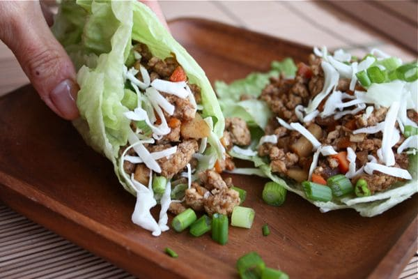 Spice Asian Turkey Lettuce Wraps - recipe1