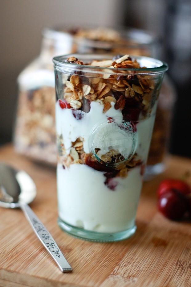 Cherry Almond Granola | AggiesKitchen.com #granola #healthy #breakfast ...